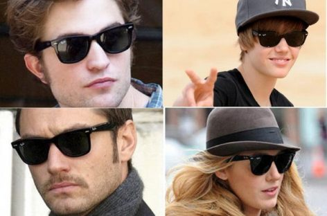 Ray Ban Sunglasses with Celebrities Fashion