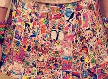 This Skirt Made Out Of Lisa Frank Stickers Is Peak Nostalgia