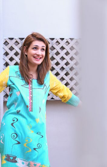 Yasmeen Jiwa Mischief Winter Short Kurtis 2016-17 Collection